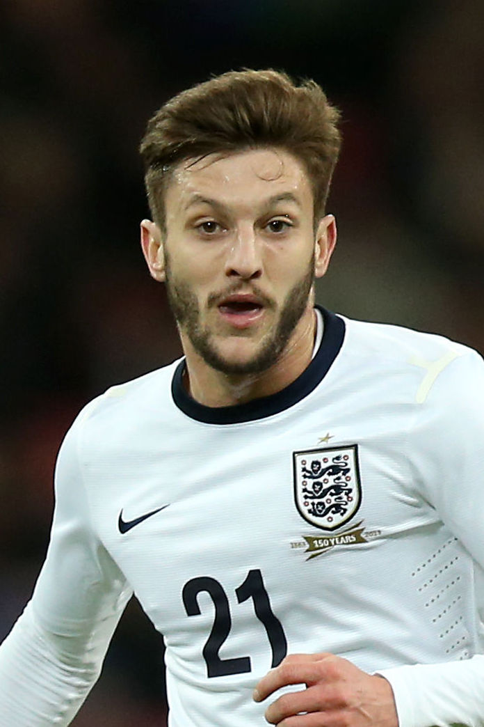 Adam Lallana - one of three Saints in World Cup squad.