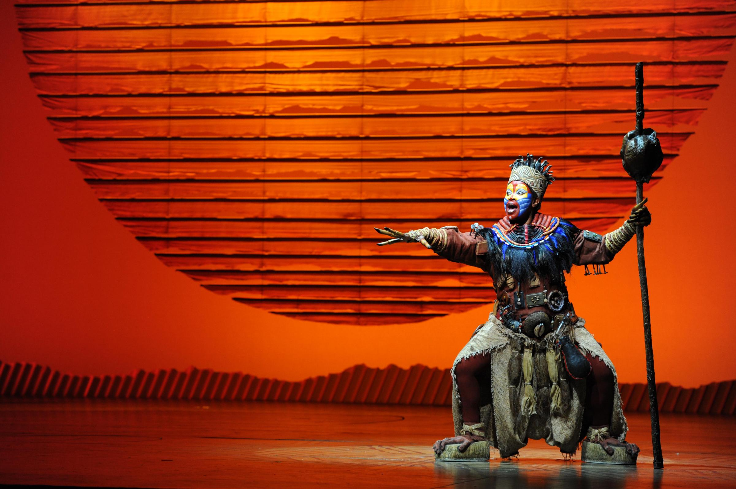 The Lion King is the big summer show at Mayflower Theatre
