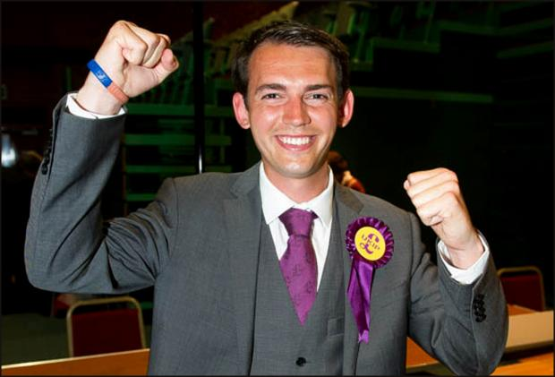 High drama as UKIP win seat and  Labour, Tories and Lib Dems all celebrate