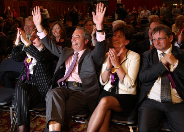 Night of drama in Southampton as UKIP sweeps to victory