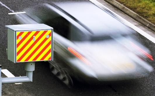 Daily Echo: Two of the worst cases of speeding were clocked on roads in East Lancashire