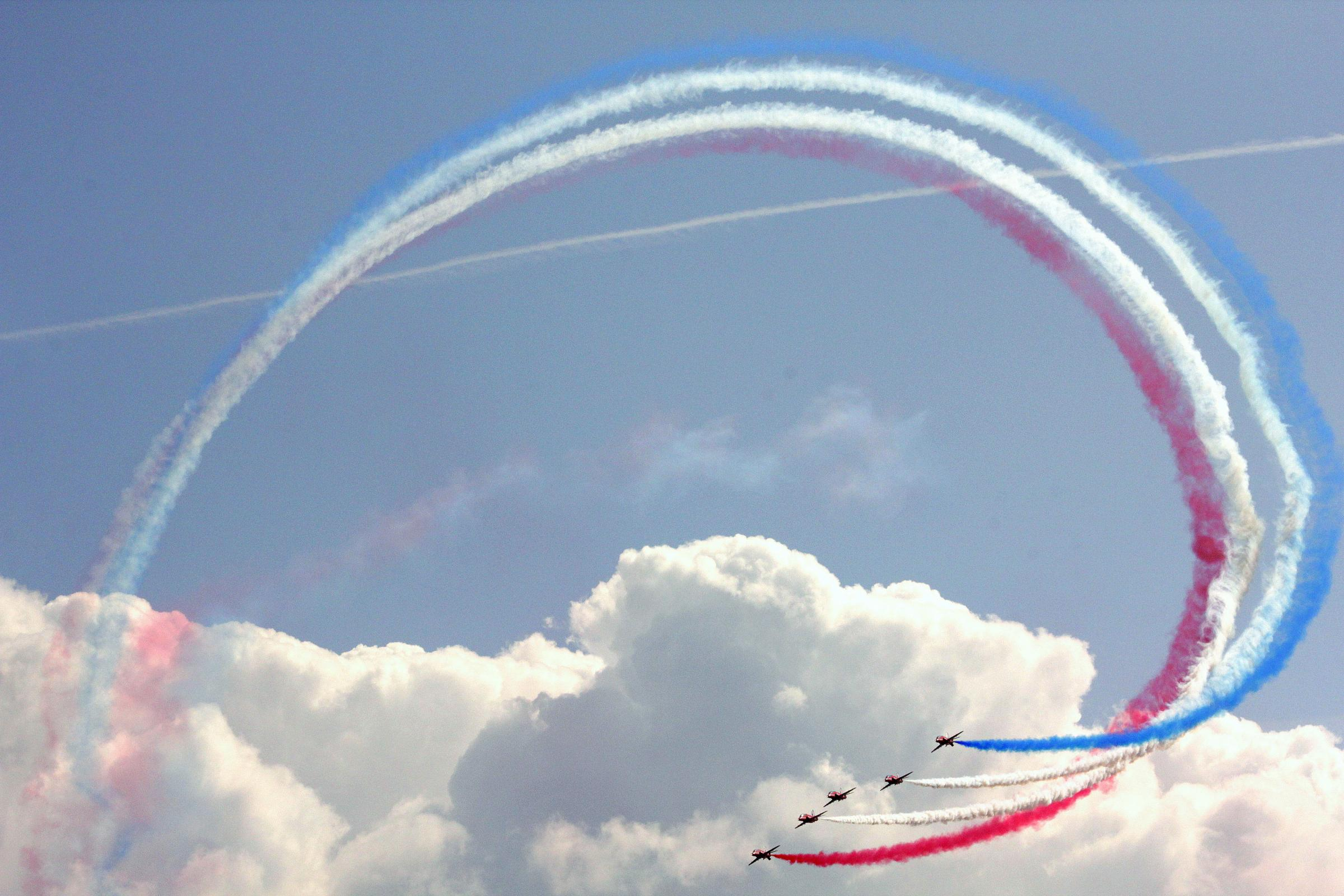 Red Arrows returning to Hampshire for spectacular display