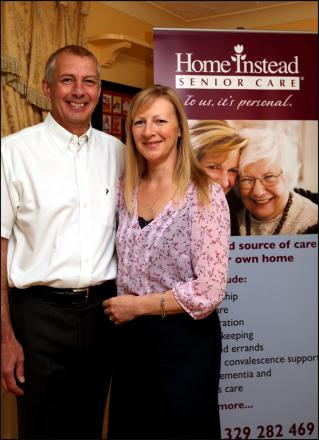 NEW VENTURE: Jon and Alison James who have set up Home Instead Senior Care