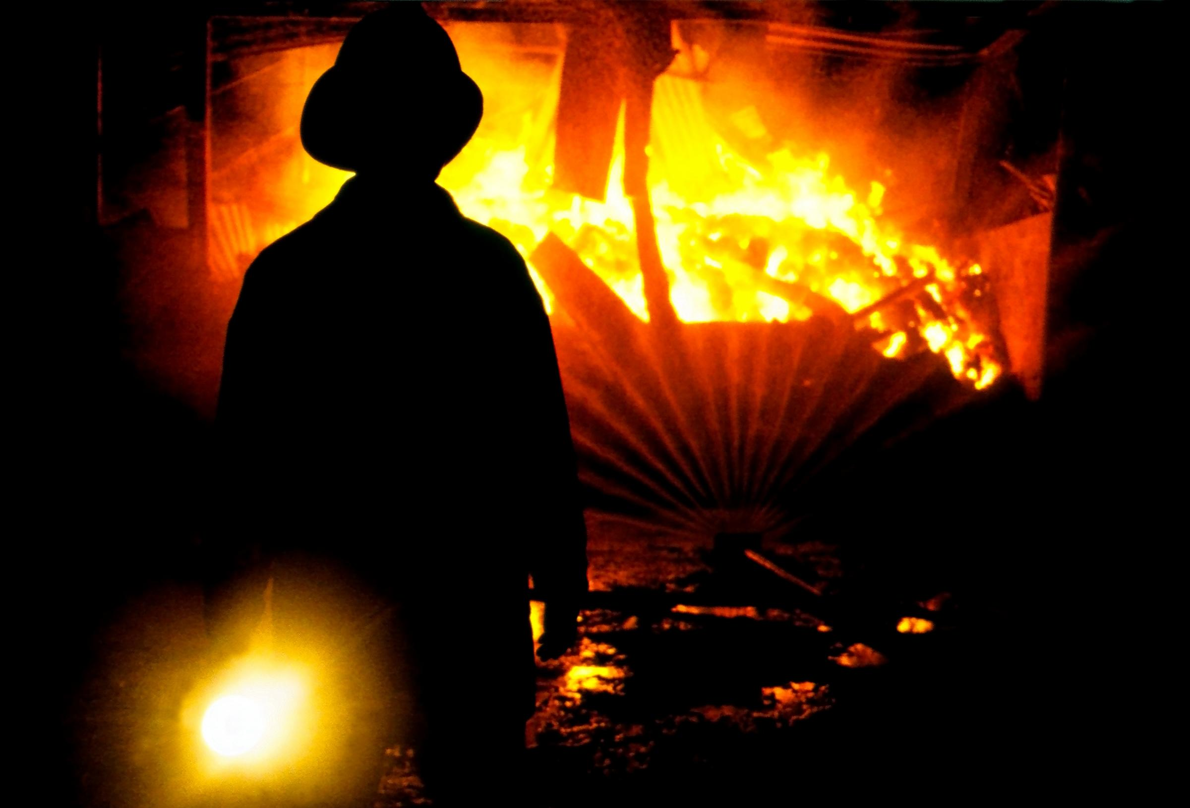 Sharp drop in number of arson attacks