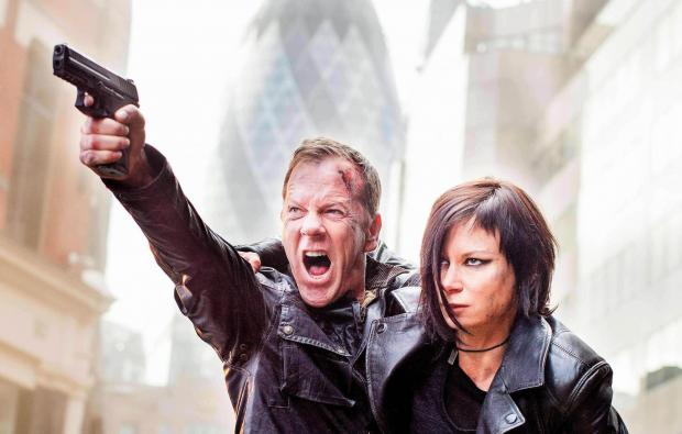 Kiefer Sutherland as Jack Bauer in in 24