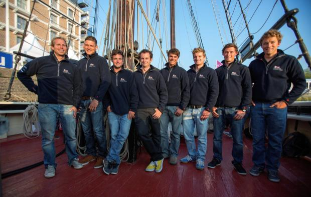 The eight British Solitaire du Figaro contenders