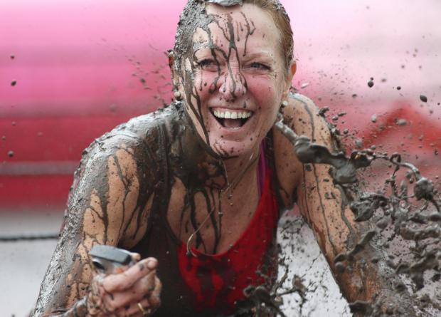 Pretty Muddy cancer fundraiser lives up to its name