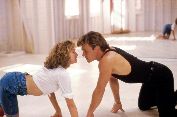 A still from the film Dirty Dancing which inspired the musical.