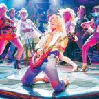 Daily Echo: IT'S THE FINAL COUNTDOWN: Ben Richards, enjoys taking centre stage as Stacee Jaxx in the latest touring version of musical Rock Of Ages