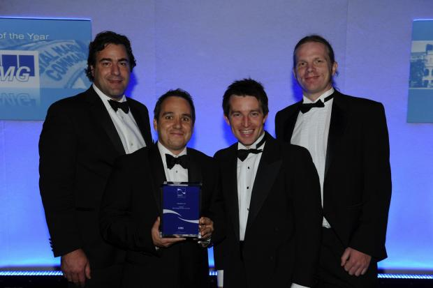The Novatech team are former winners of the RBS Management Team of the Year Award at the Hampshire Business Awards
