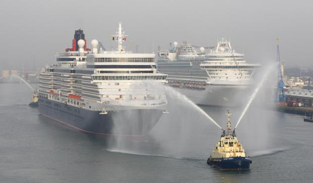 Southampton is Europe's largest embarkation and disembarkation port.