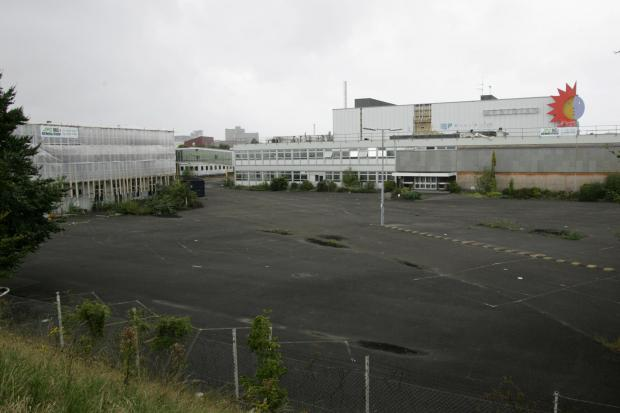 The former Meridian television studios in Southampton are subject to plans for 350 homes