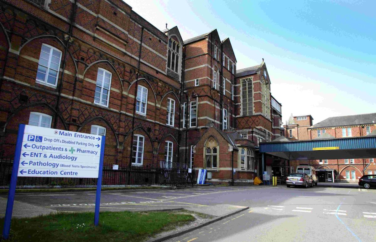 The Royal Hampshire County Hospital in Winchester was one of the hospitals criticised