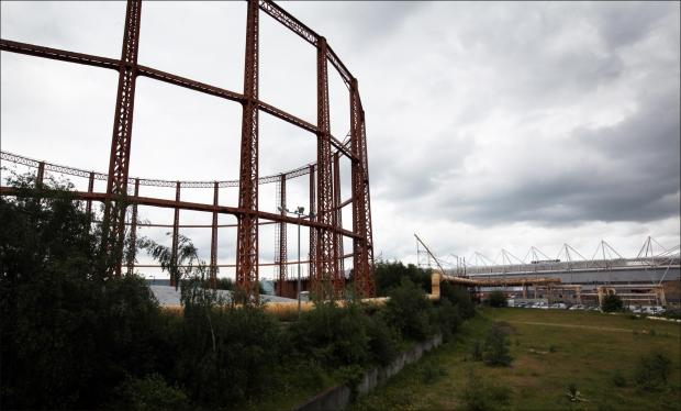 Plans unveiled to demolish protected gas holders