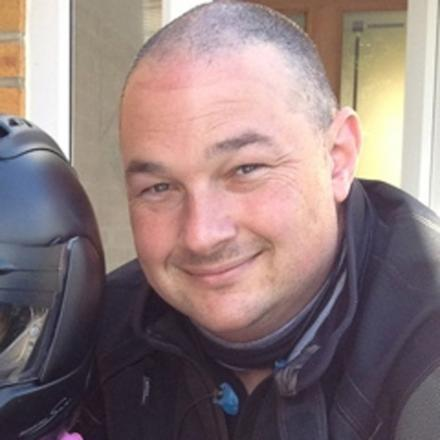 PC Steve Rawson died after his motorcycle collided with a car in Thomas Lewis Way, Southampton, in April last year