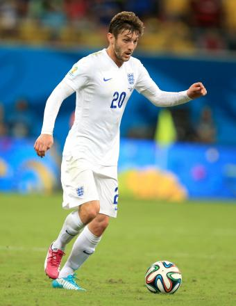 Adam Lallana factfile