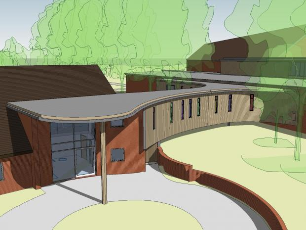 An artist's impression of the new-look Naomi House