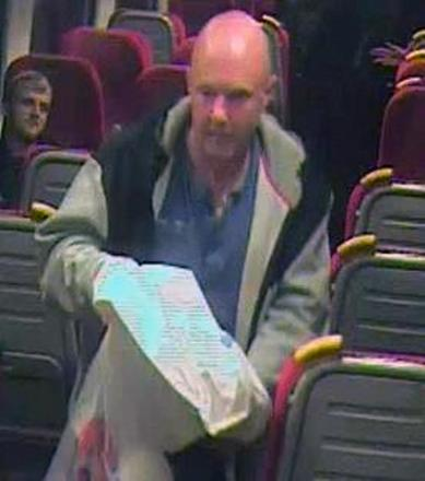 Police want to speak to this man in relation to crimes at three Hampshire railway stations