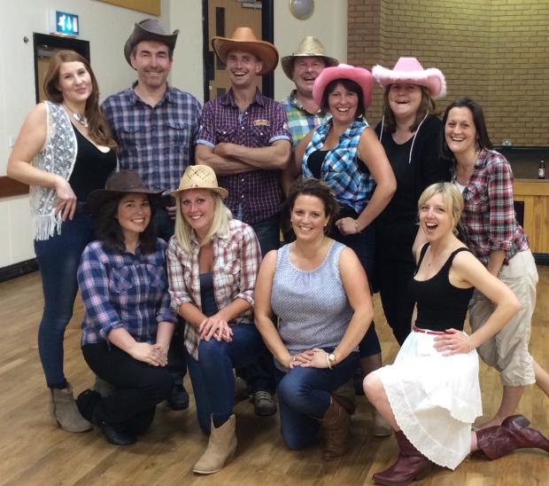Hiltingbury gets ready for hoedown