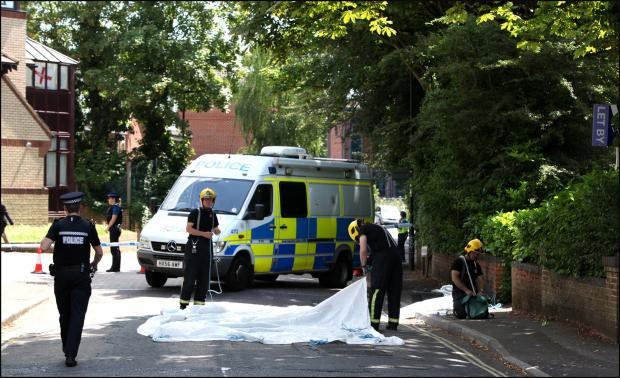 Body found in bins not suspicious - police