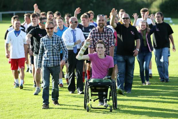 Daily Echo: A party to remember as Stockbridge rallies for Alex Lewis