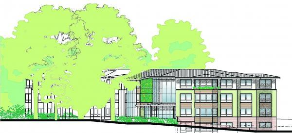 Daily Echo: An artist's impression of the scheme