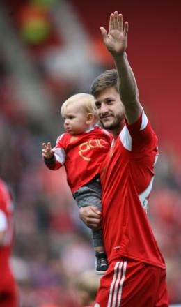 Lallana thanks Saints fans