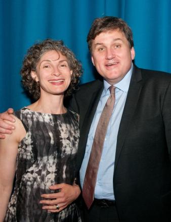 Mr Malthouse with wife Juliana