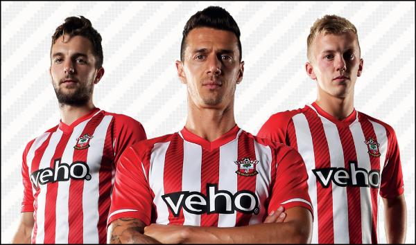 Saints go back to red and white stripes