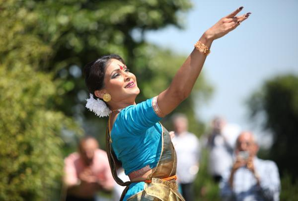 Daily Echo: Traditional dancing from last year's event