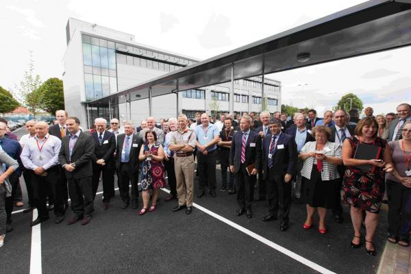 Technology giant Selex ES opens £10m Millbrook base employing 530 people