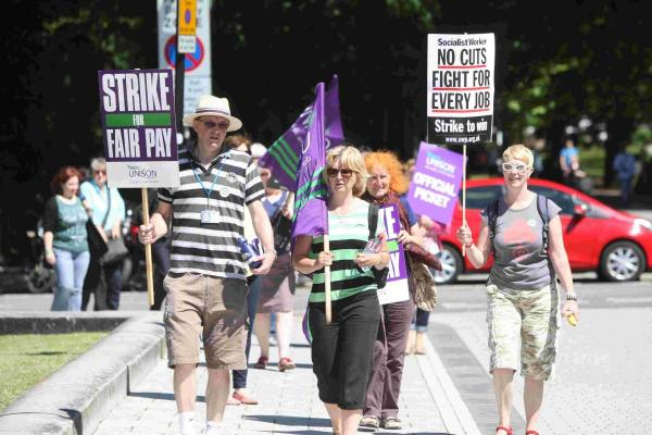 Strike is 'first shot in longer battle'