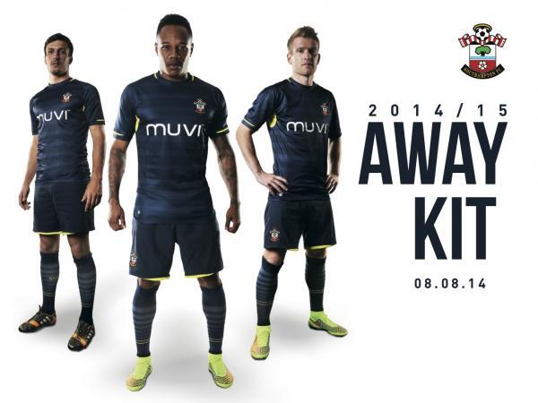 Saints unveil new away kit