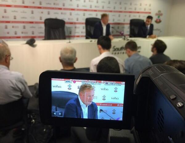 Ronald Koeman on video at Saints
