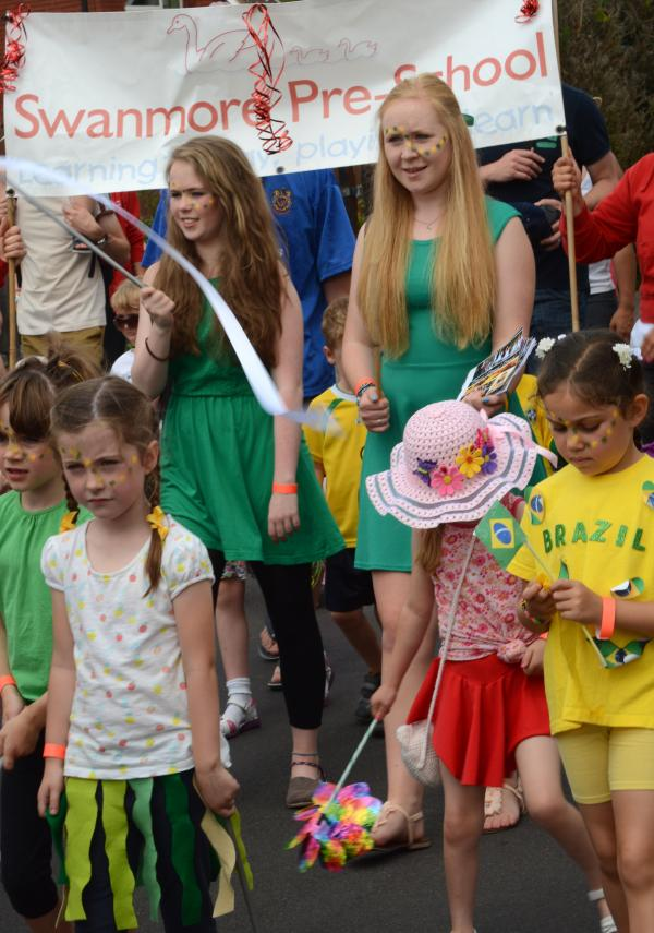 World Cup fever gripped Swanmore Carnival