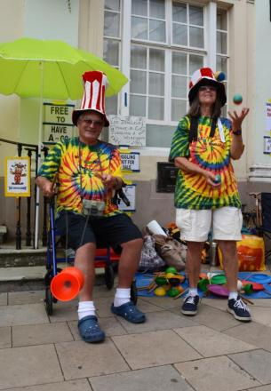 Romsey puts on a party with its Beggars Fair