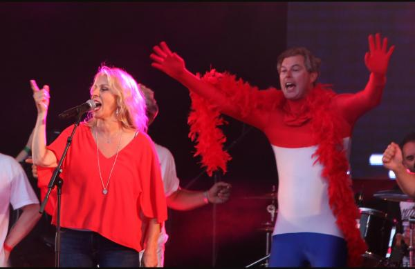 VIDEO: Bananarama take Let's Rock by storm - with a little help from some fans