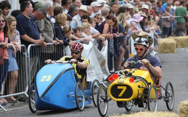 Daily Echo: All our pictures of the British Pedal Car Grand Prix 2014 in Ringwood