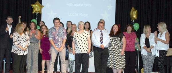 The winners of the Social Care in Action awards