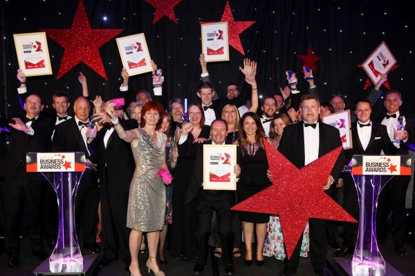 The winners at the South Coast Business Awards.