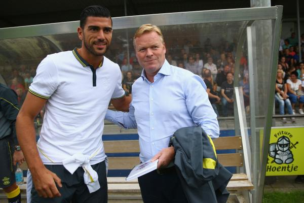 Koeman the centre of attention as he returns to his native Netherlands