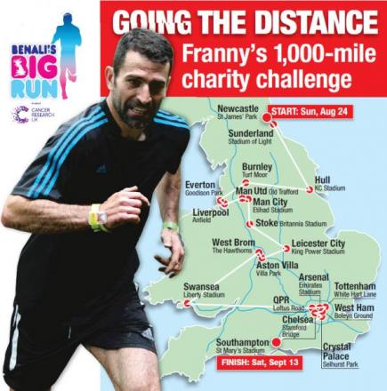 Benali's Big Run to hit WestQuay