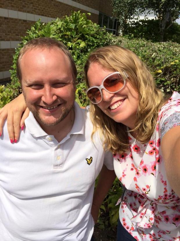 Daily Echo: Ian Crump and Tara Russell