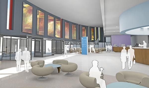 Plans for inside the new look Southampton General Hospital