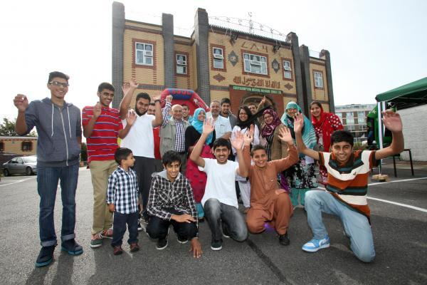 Muslims in Southampton celebrate Eid al-Fitr last year
