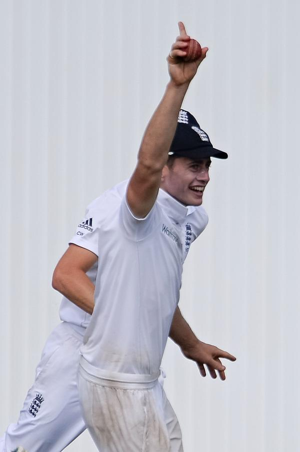 Catch of the day for Hants rookie at Ageas Bowl Test