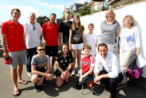 Sir Ben Ainslie inspires brave youngsters