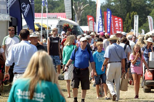 Crowds once again flocked to the New Forest Show