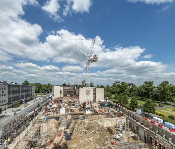 £40m arts complex starts to take shape