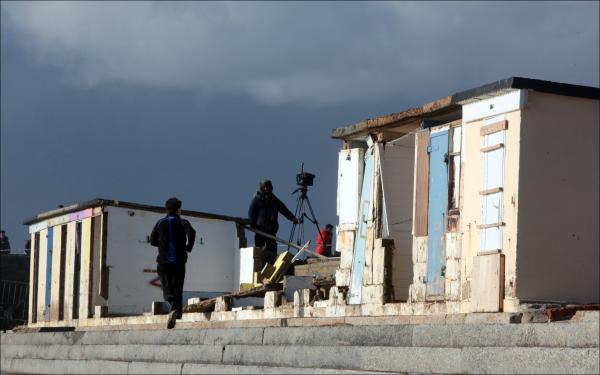 Storm brewing over plans to replace damaged beach huts